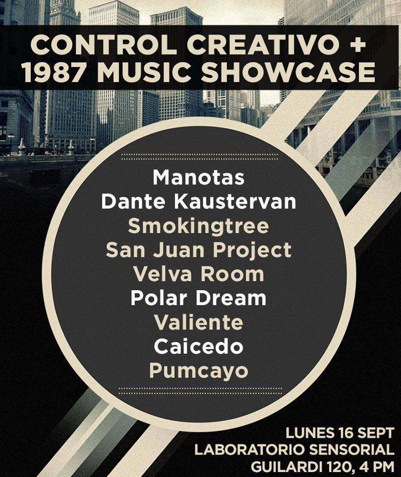 Control Creativo + 1987 Music Showcase